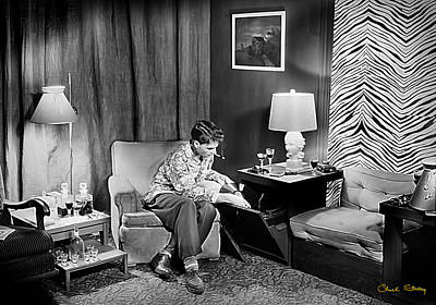 Photograph - Interior Photography - 1949 Bohemian by Chuck Staley