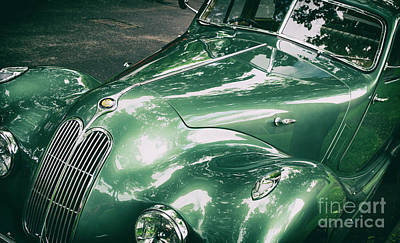 Photograph - 1949 Bristol 400 Classic Car by Tim Gainey