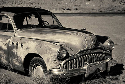 Photograph - 1949 Buick Eight Super I Toned by David Gordon