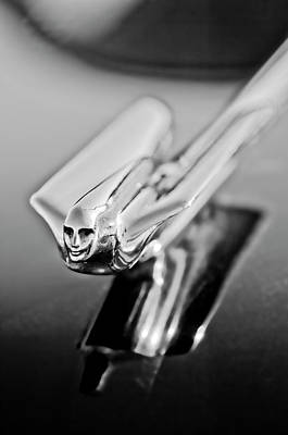 Photograph - 1949 Cadillac Hood Ornament 4 by Jill Reger