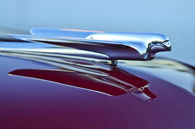 1949 Cadillac Hood Ornament Art Print