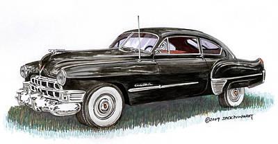 Painting - 1949 Cadillac Sedanette by Jack Pumphrey