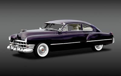 Photograph - 1949 Cadillac Two Door Sedan  -  1949caddy2doorsedanfa172173 by Frank J Benz