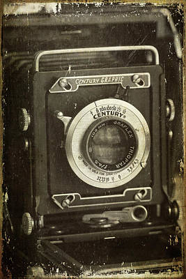 Photograph - 1949 Century Graphic Vintage Camera by Cindi Ressler
