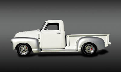 Photograph - 1949 Chevrolet 3100  -  1949chevy3100pickupfa149830 by Frank J Benz