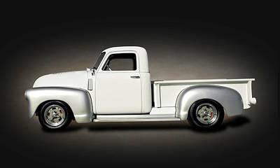 Photograph - 1949 Chevrolet 3100  -  1949chevy3100texturespot149830 by Frank J Benz