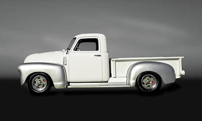 Photograph - 1949 Chevrolet 3100  -  1949chevypickup3100seriesgry149830 by Frank J Benz