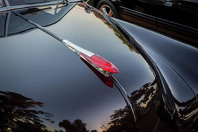 Photograph - 1949 Chevrolet Coupe Hood Ornament  by Rich Franco