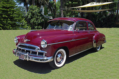 Photograph - 1949 Chevrolet Deluxe by Carlos Diaz