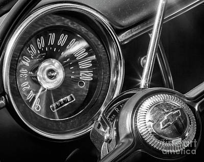 Photograph - 1949 Chevrolet Steering And Dash by Dennis Hedberg