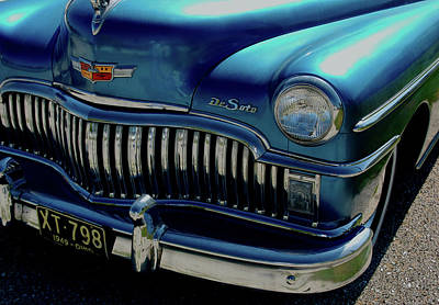 Photograph - 1949 De Soto  by Kathleen Stephens