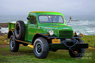 Beers On Tap - 1949 Dodge Power Wagon Ram 2 by Dave Koontz