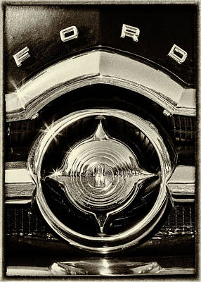 Photograph - 1949 Ford Grillwork by Caitlyn Grasso