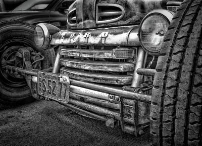 Chopped Photograph - 1949 Ford by Larry Marshall