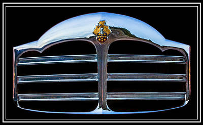Photograph - 1949 Packard Grill by TL Mair
