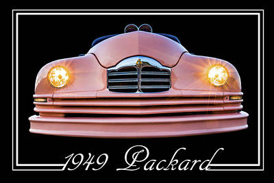 Photograph - 1949 Packard by TL Mair