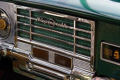 1949 Plymouth Coupe Radio Art Print