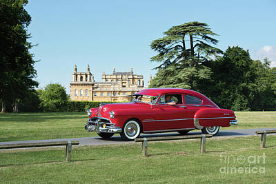 Photograph - 1949 Pontiac At Blenheim Palace by Tim Gainey