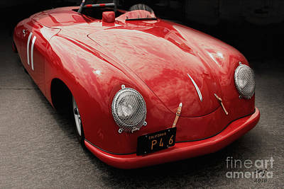 Photograph - 1949 Porsche 356sl  by Curt Johnson