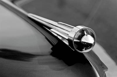 Best Stock Photograph - 1949 Studebaker Champion Hood Ornament 3 by Jill Reger