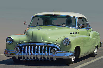 Photograph - 1950 Buick Eight by Bill Dutting