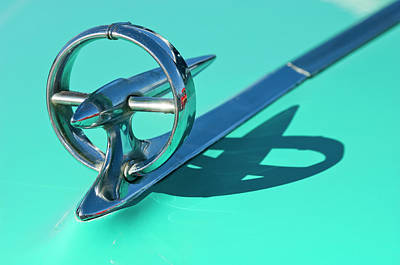Hoodies Photograph - 1950 Buick Hood Ornament by Jill Reger