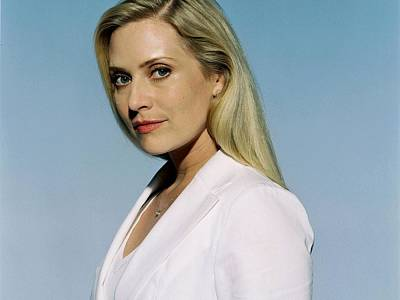 Emily Procter Digital Art - 1950 Celebrity Emily Procter  by Anne Pool