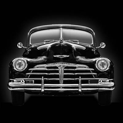 1950 Chevy Art Print by Gary Warnimont