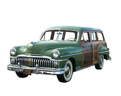 Photograph - 1950 Desoto Woody Wagon by Jack Pumphrey