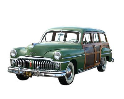 1950 Desoto Woody Wagon Original by Jack Pumphrey