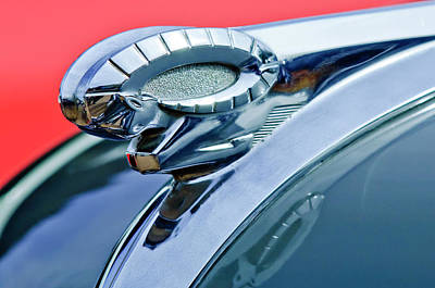 Hoodie Photograph - 1950 Dodge Coronet Hood Ornament by Jill Reger