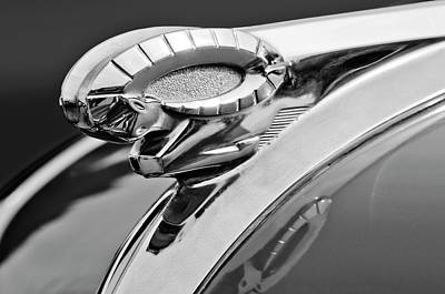 Best Stock Photograph - 1950 Dodge Ram Hood Ornament by Jill Reger