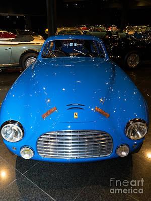 Photograph - 1950 Ferrari 195 Sport Touring Berlinetta Dsc2578 by Home Decor