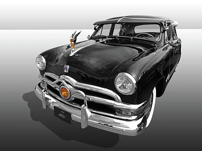 Photograph - 1950 Ford Sedan by Gill Billington