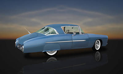 Photograph - 1950 Leo Lyons Ultra Modern Merc  -  50umm2-1 by Frank J Benz