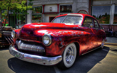 Photograph - 1950 Mercury 4 Door by David Patterson