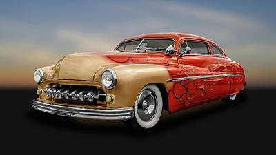 Photograph - 1950 Mercury Sedan   -   1950merc742 by Frank J Benz