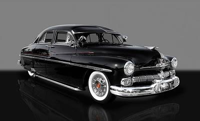 Photograph - 1950 Mercury 4 Door Sedan by Frank J Benz
