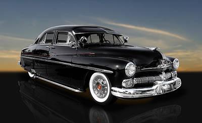 Photograph - 1950 Mercury 4 Door Sport Sedan by Frank J Benz
