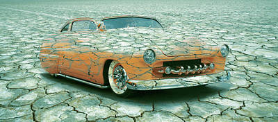 Photograph - 1950 Mercury Coupe Mirage 2 by Steve McKinzie