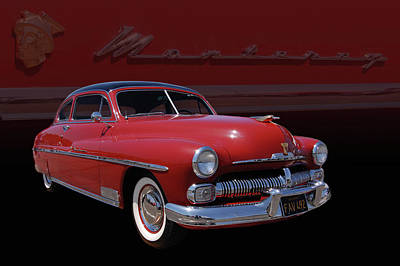 1950 Mercury Monterey Art Print by Bill Dutting