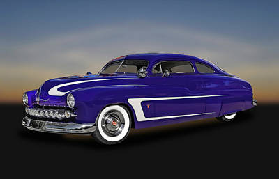 Photograph - 1950 Mercury Sedan  -  1950merc039 by Frank J Benz