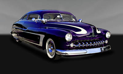 Photograph - 1950 Mercury Sedan -  1950mercpurpgry9268 by Frank J Benz