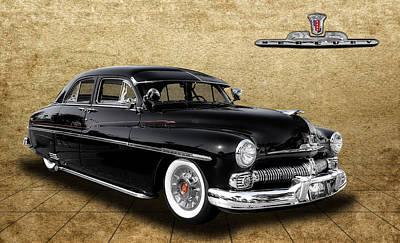 Photograph - 1950 Mercury Sedan by Frank J Benz