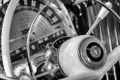 Photograph - 1950 Mercury Steering And Dash by Dennis Hedberg