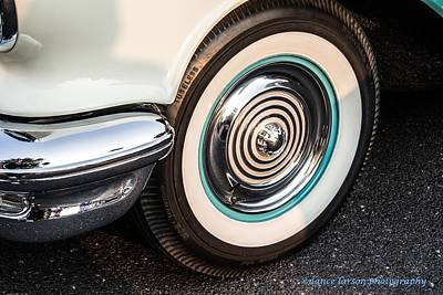 Photograph - 1950 Olds Whitewalls by Nance Larson