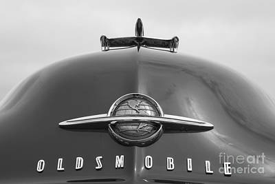 Photograph - 1950 Oldsmobile Hood by Dennis Hedberg