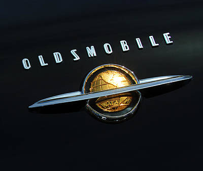 1950 Oldsmobile Rocket 88 Convertible Emblem Art Print