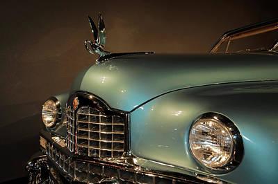 Thoughtfully Photograph - 1950 Packard Cormorant Hood Ornament by John Bartelt