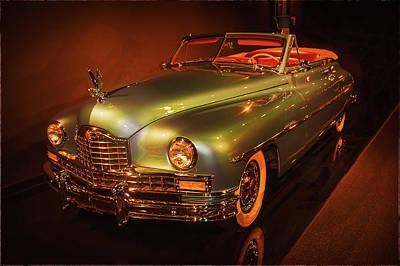 Thoughtfully Photograph - 1950 Packard Super Eight  Convertible  by John Bartelt